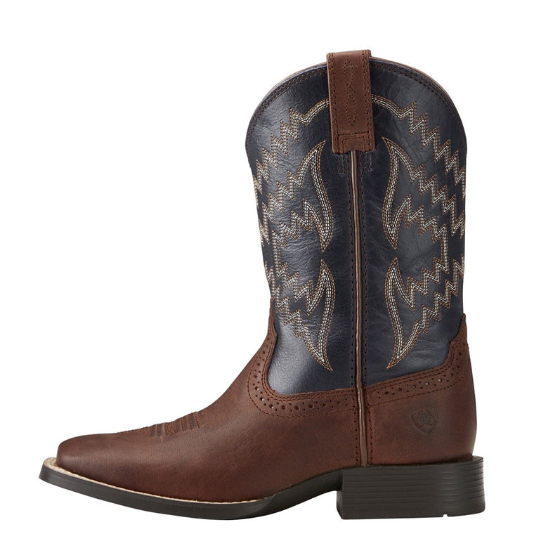 Ariat Kids Tycoon Brazen Brown/Arizona Sky