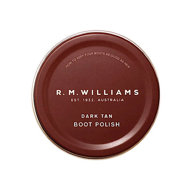 R.M.Williams Stockmans Boot Polish Dark Tan CC244BP1301070M