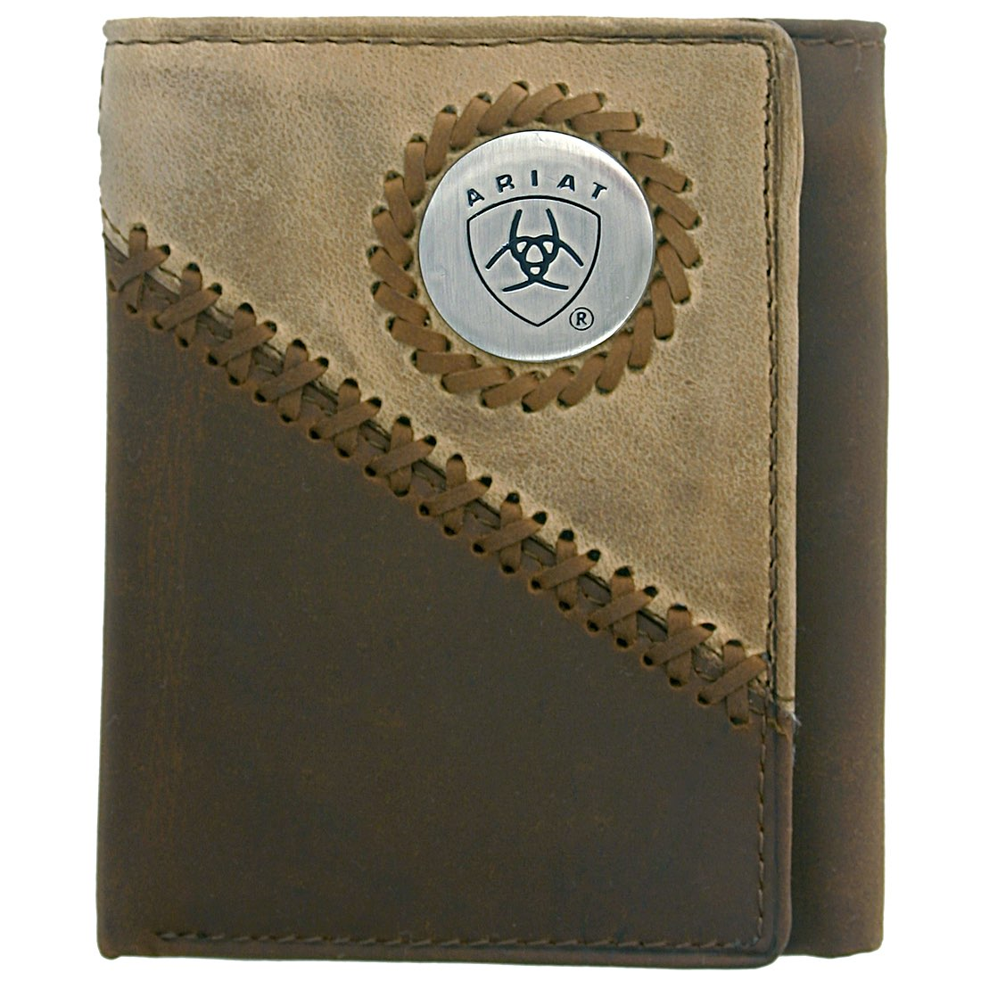 Tri fold Wallet-Brown / Fawn WLT3100A