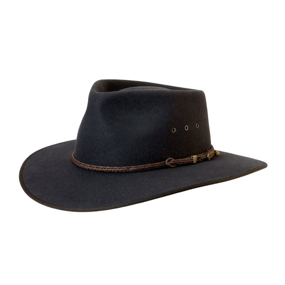 Akubra Cattleman Graphite Grey