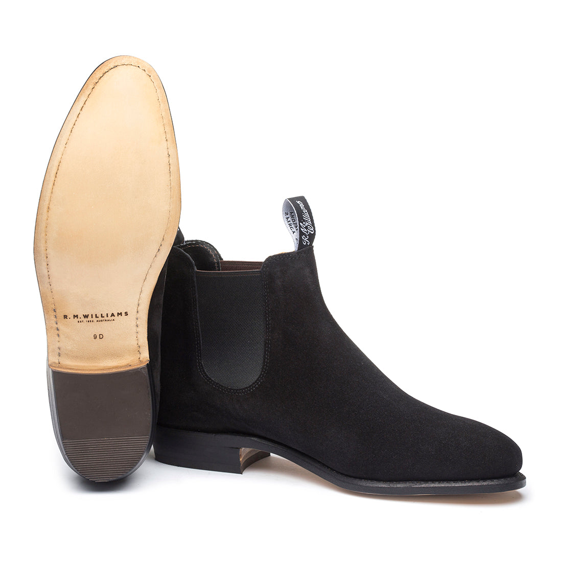 342e0479c59 Womens Suede Adelaide Boots Black