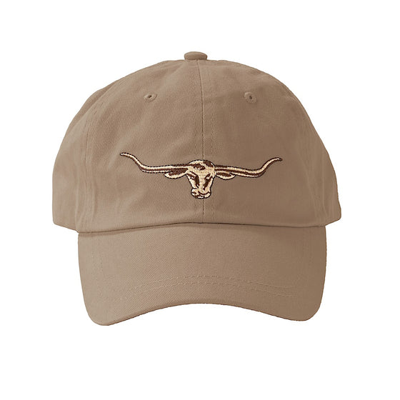 R.M.Williams Steers Head Logo Cap Buckskin