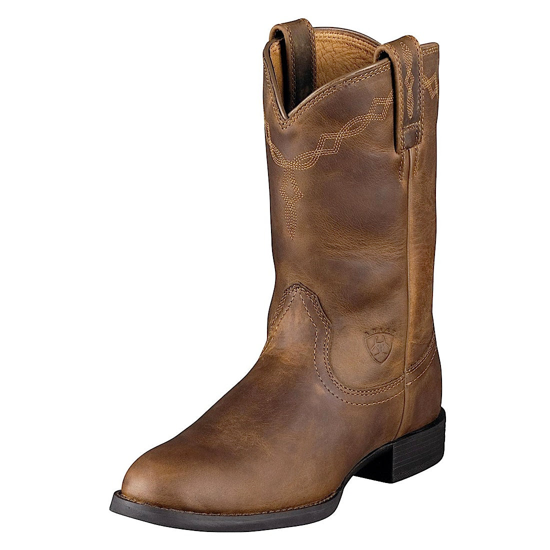 Ariat Womens Heritage Roper Distressed Brown