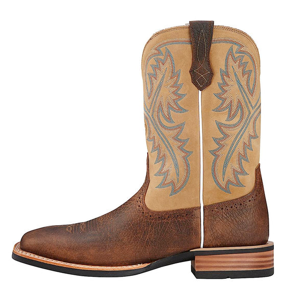 Ariat Mens Quickdraw Tumbled Bark/Beige