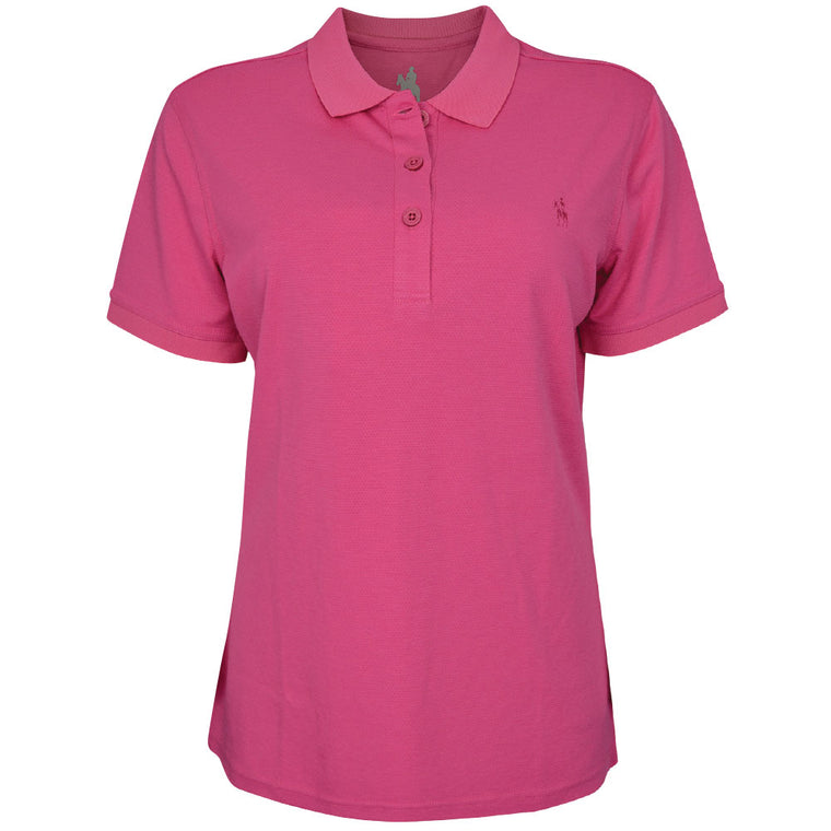 Thomas Cook Womens Bamboo Polo Pink