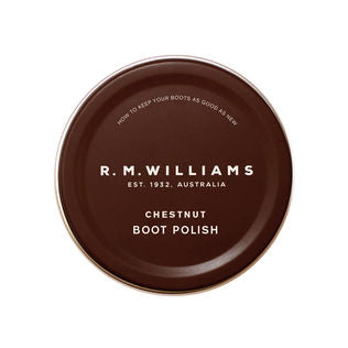 R.M.Williams Stockmans Boot Polish Chestnut