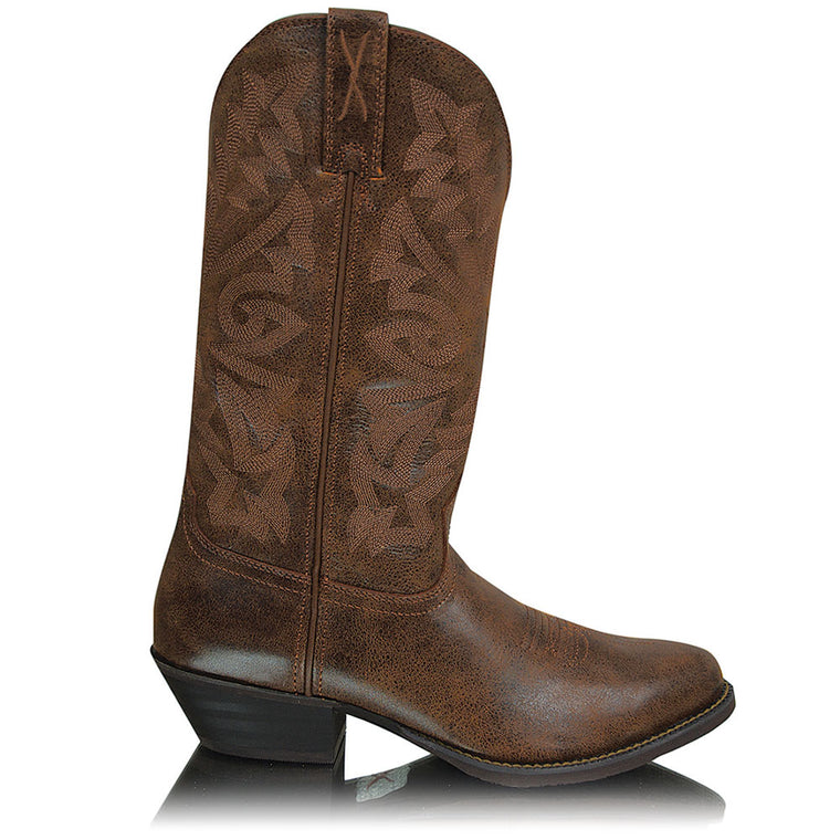 Twisted X Mens Western Brown/Brown