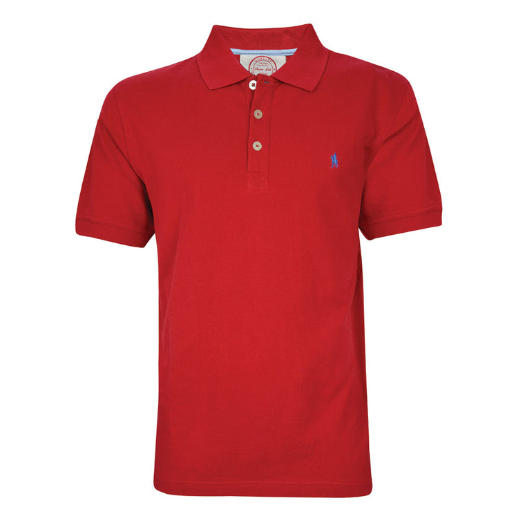 Thomas Cook Mens Tailored Polo Chilli