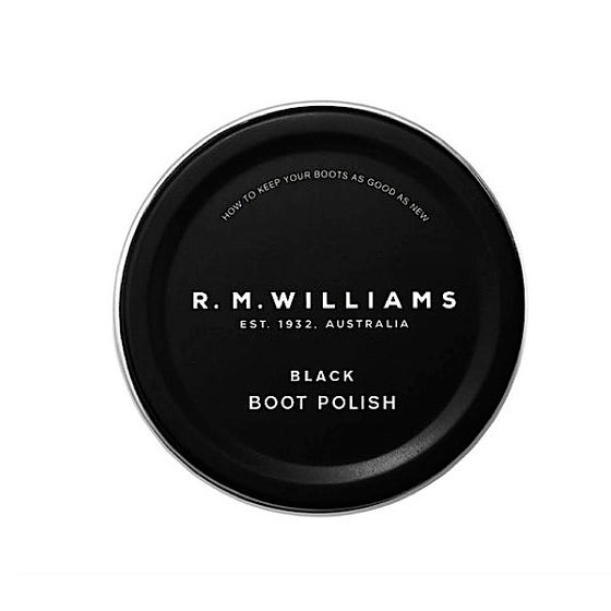 R.M.Williams Stockmans Boot Polish Black