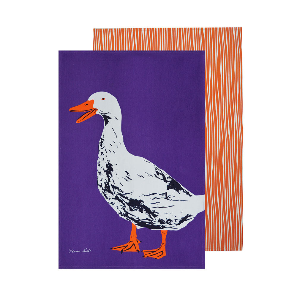 Thomas Cook Tea Towel Duck 2 Pack