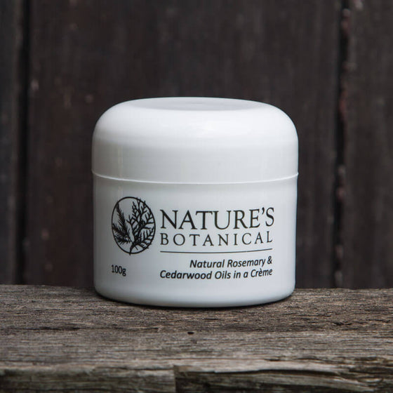 Natures Botanical Creme Personal Insect Repellent 100grm