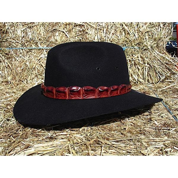 Akubra Coolabah Black