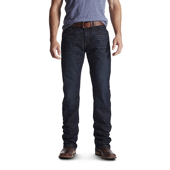 Ariat Mens Rebar Fashion M4 Low Rise Boot Cut Jean Bodie