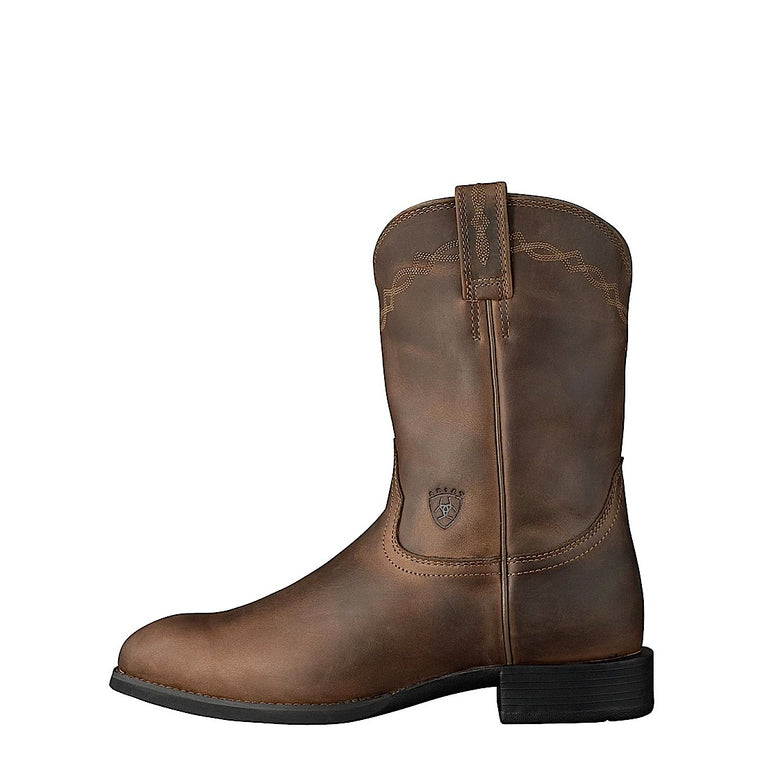 Ariat Mens Heritage Roper Distressed Brown