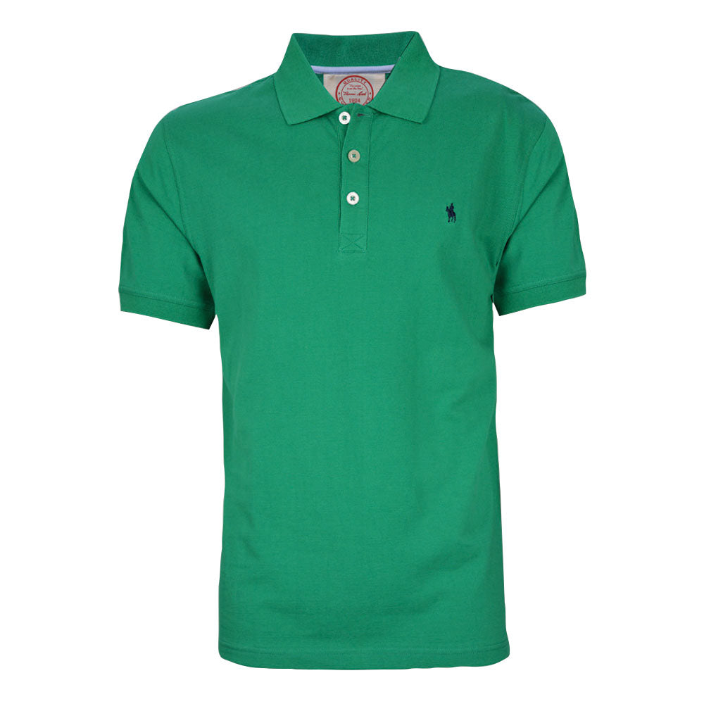 Thomas Cook Mens Tailored Polo Pepper Green