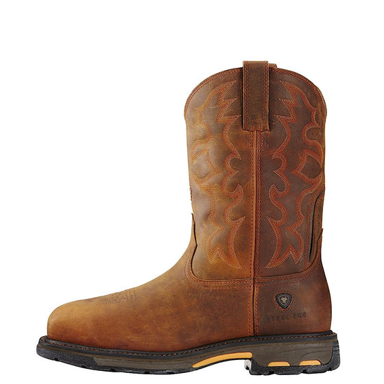Ariat Mens Workhog Australia Steel Toe Toast