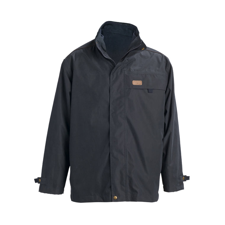 R.M Williams Rockley Jacket Navy/Ironbark