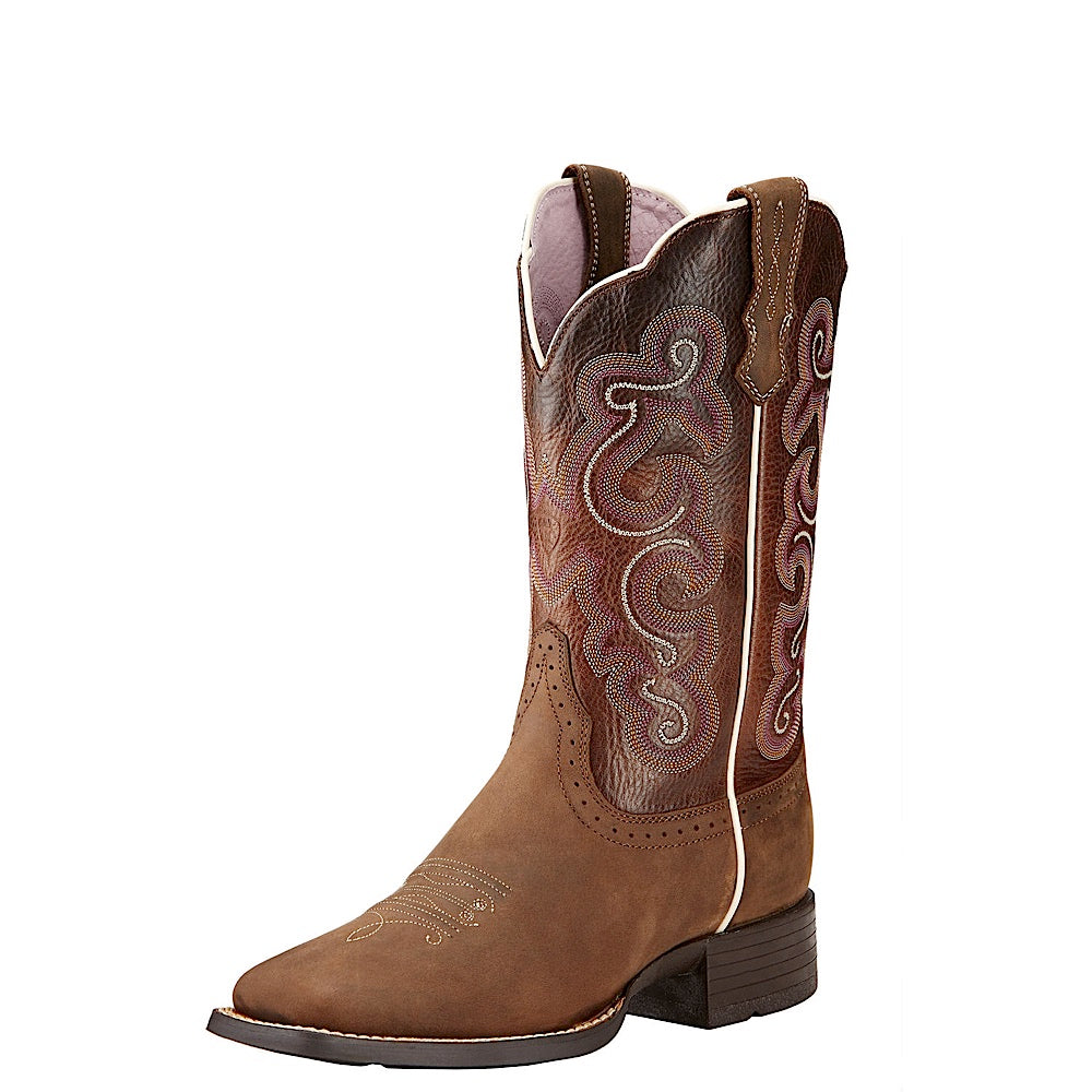 Ariat Womens Quickdraw Badlands Brown/Wicker