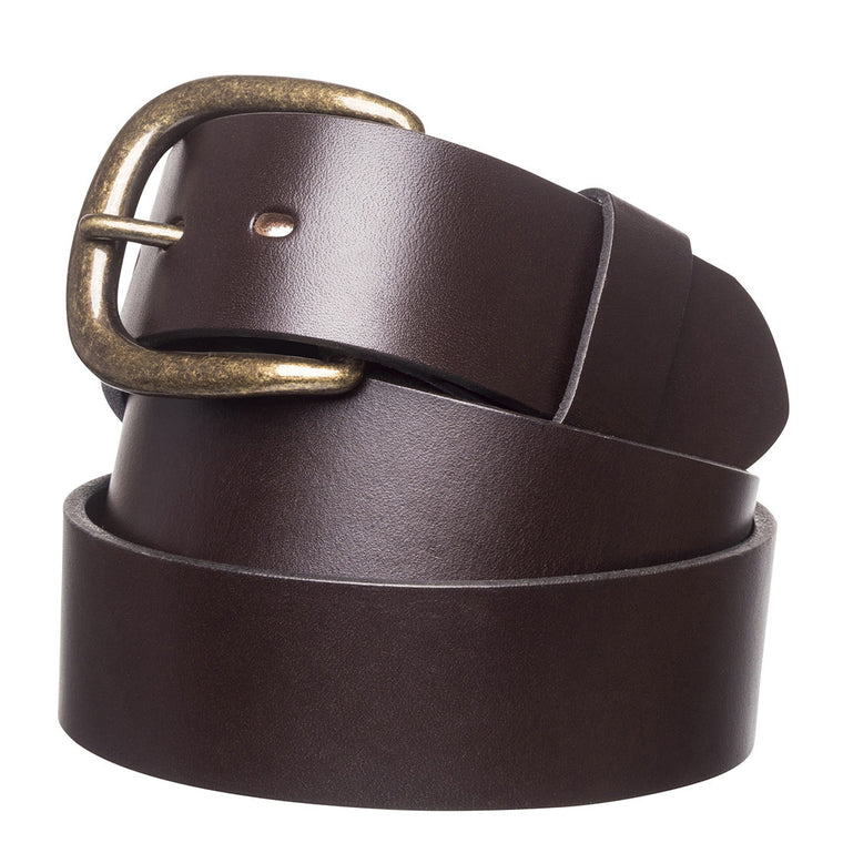 "R.M.Williams Chestnut 1 1/2"" Traditional Belt"