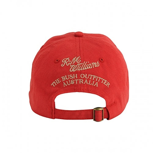 0e6e8cc6a34 Buy R.M.Williams Steers Head Logo Cap Red - The Stable Door