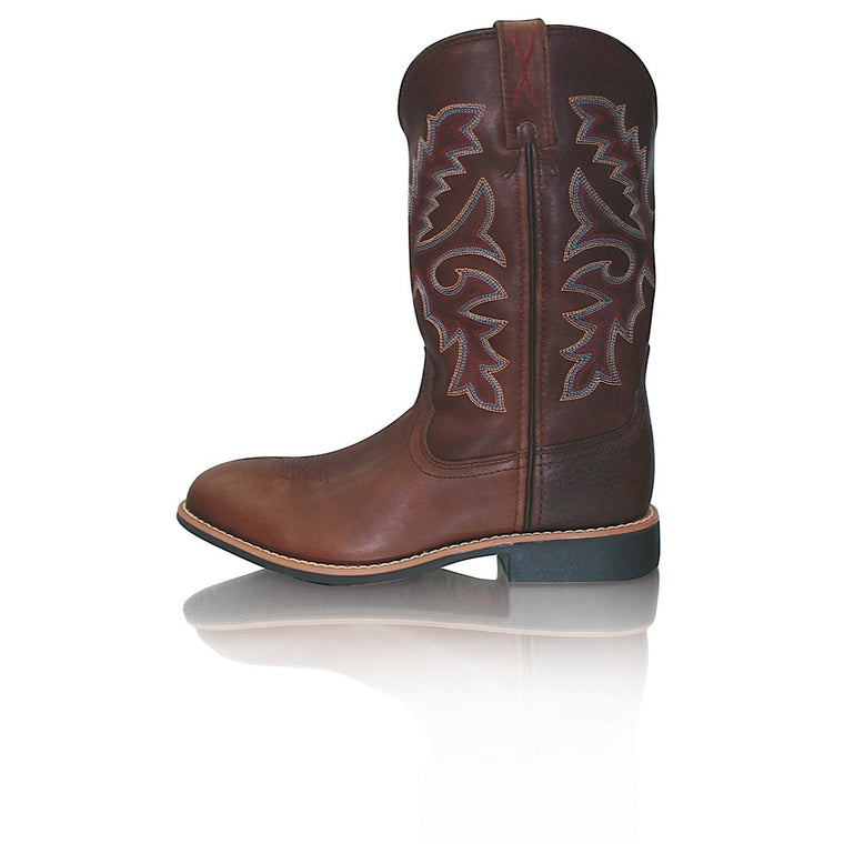 Twisted X Cowkids Top Hand Oiled Brown/Brown