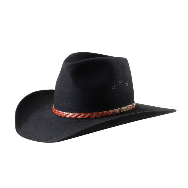 Akubra Golden Spur Black