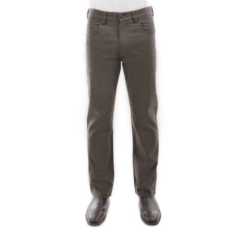 Mens Stretch Moleskin Regular Fit Greystone