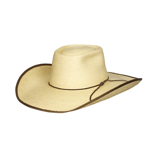 "Sunbody Alex 4 1/2"" Inch Brim Chocolate Bound Edge"