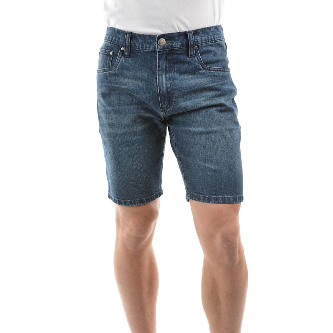 Pure Western Mens Morrison Short After Dark
