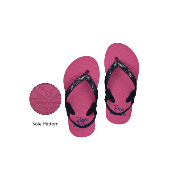 Pure Western Girls TODDLER Cody Thongs Pink