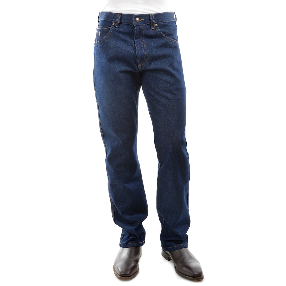 Mens 15 oz Denim Jean Dark Indigo