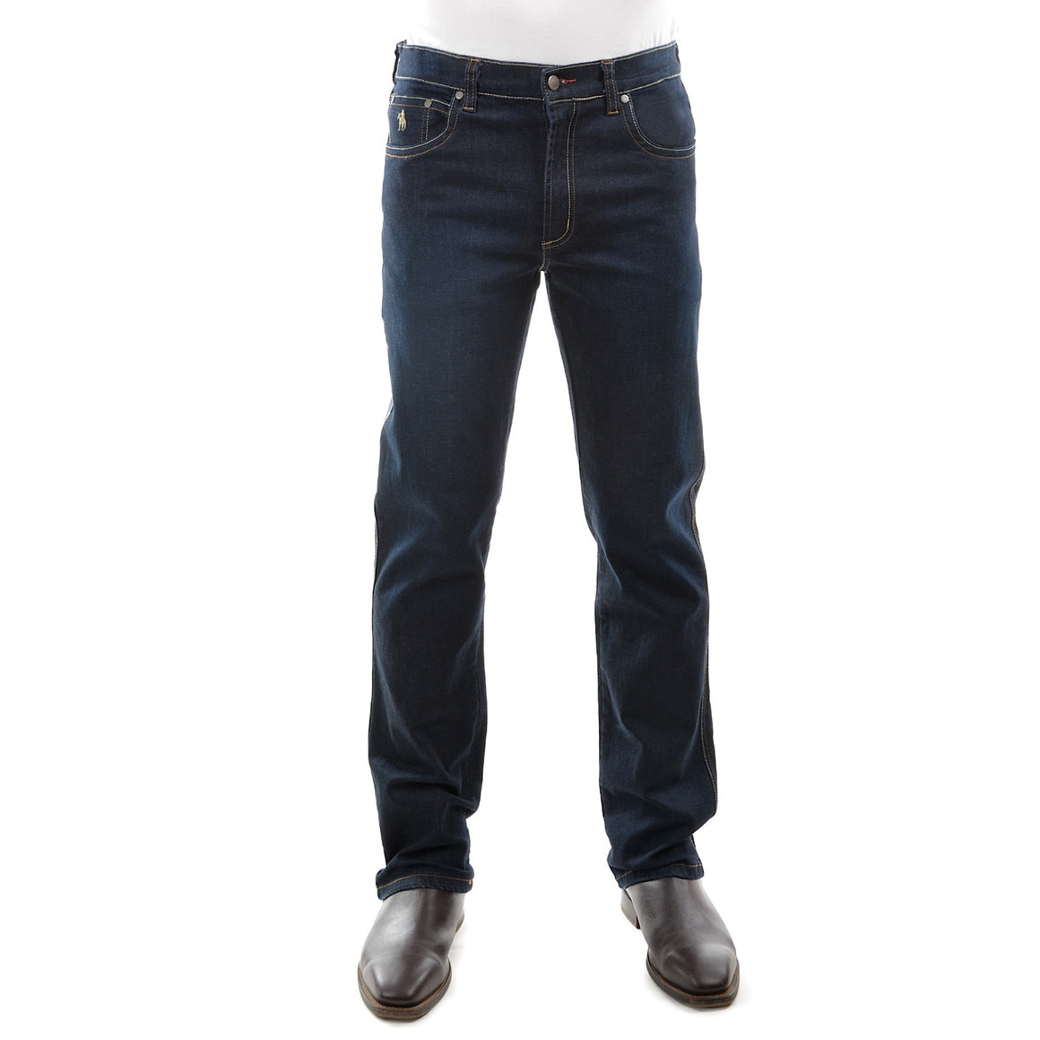 Mens  Bass Denim Stretch Jean Mid Rise
