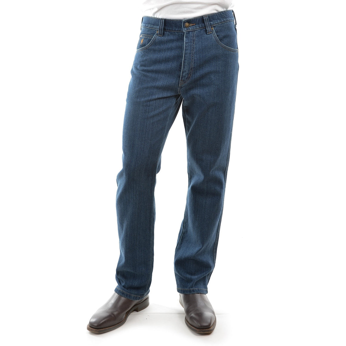 Mens Stretch Jean Regular Fit Stone Wash