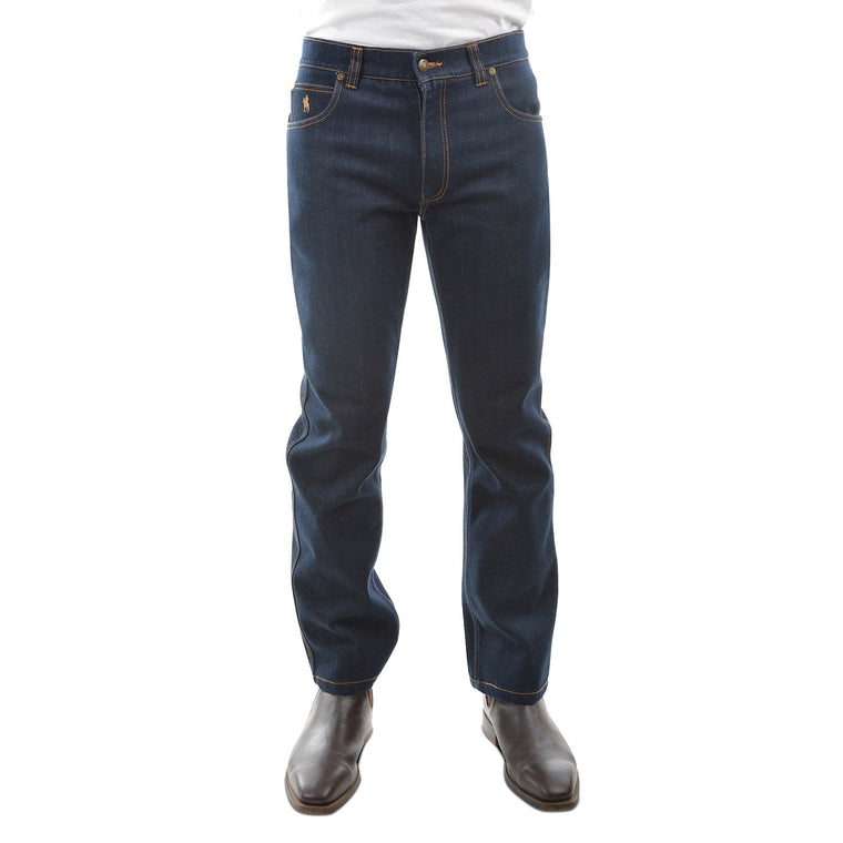 Mens Thermal Jean Blue Indigo