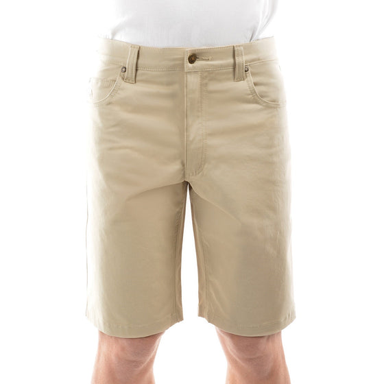 Mens Thomas Cook Jake Comfort Waist Shorts Stone