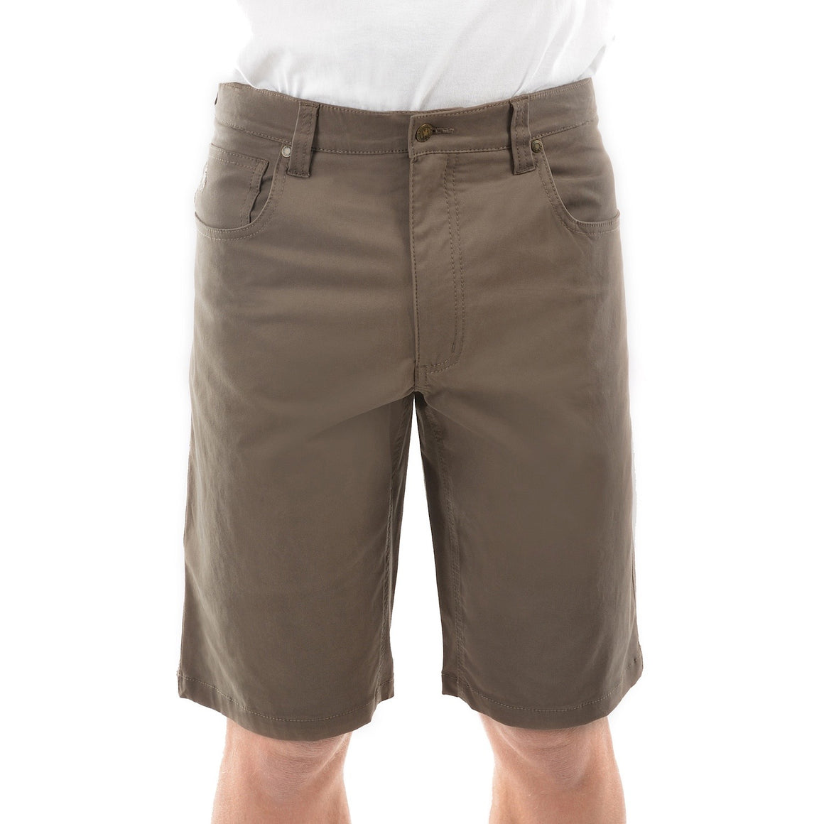 Mens Thomas Cook Jake Comfort Waist Shorts Mulch