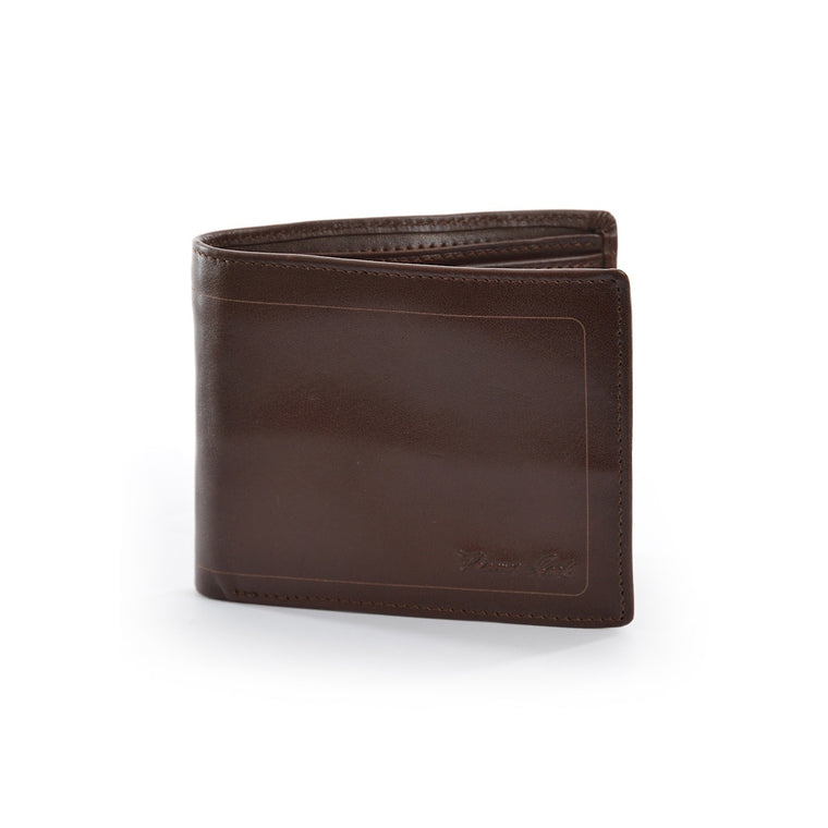 Thomas Cook Mens Leather Edged Wallet Light Brown
