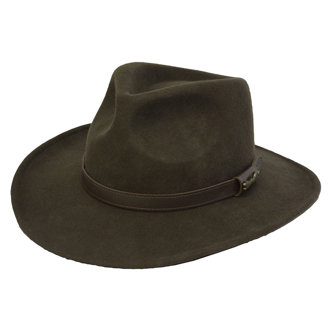 Thomas Cook Bendigo Crushable Hat Dark Brown