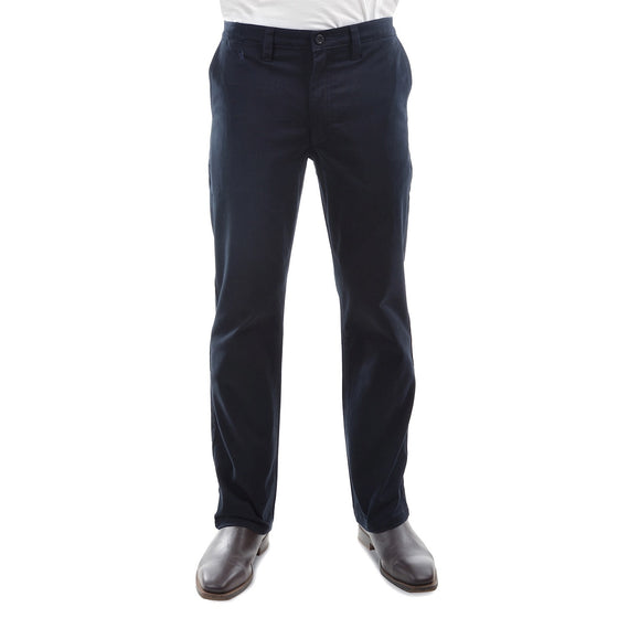 "Mens Thomas Cook Moleskin Trousers Navy 32"" Leg"
