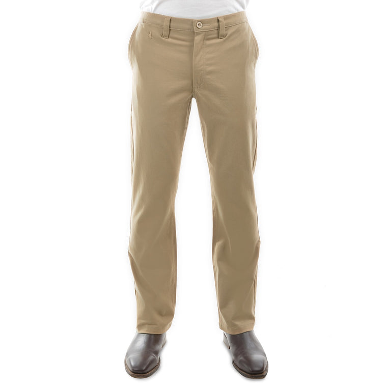 "Mens Thomas Cook Moleskin Trousers Sand 32"" Leg"