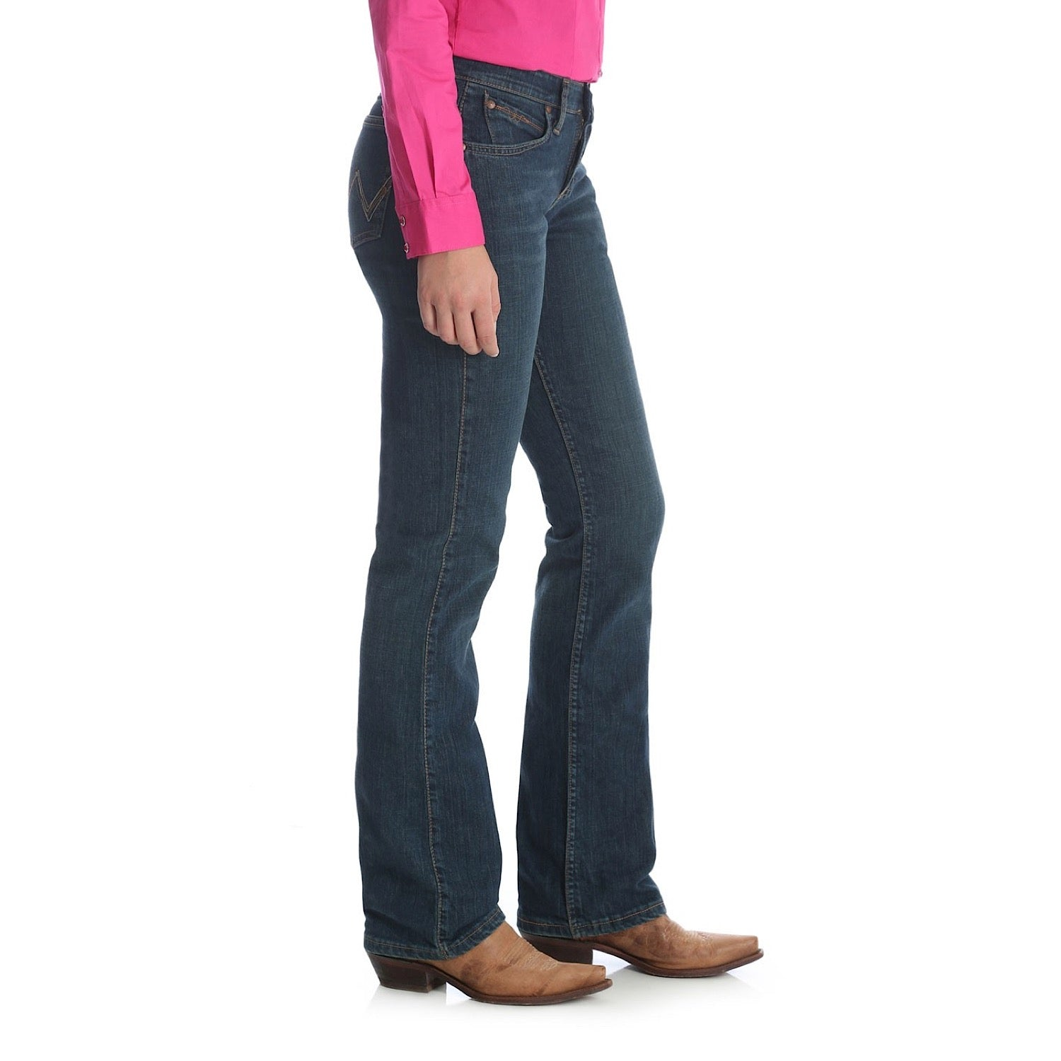 c122d6fe Ladies Q-Baby Ultimate Riding Jean Sits Below Waist, Tuff Buck WRQ20TB.  Size Charts. undefined. WRANGLER MENS WEAR