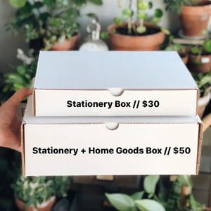 MYSTERY BOX 🎉  (Stationery + Home Goods)