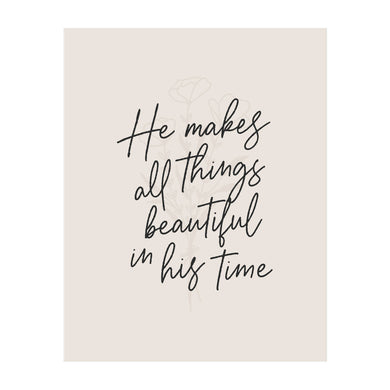 All Things Beautiful Art Print