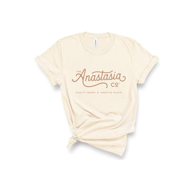 The Anastasia Co T-Shirt - Cream