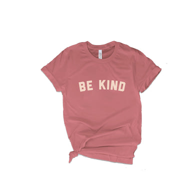 Be Kind T-Shirt - Mauve