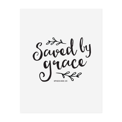 Saved By Grace Art Print