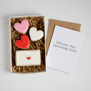 Choose Your Own Card | Love Note Cookie Box Set