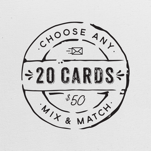 Choose Any 20 Greeting Cards