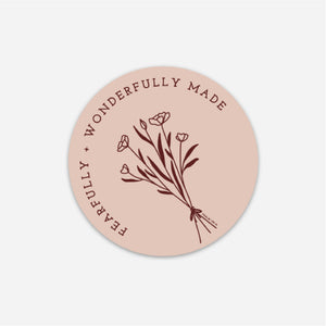 Fearfully & Wonderfully Made Sticker