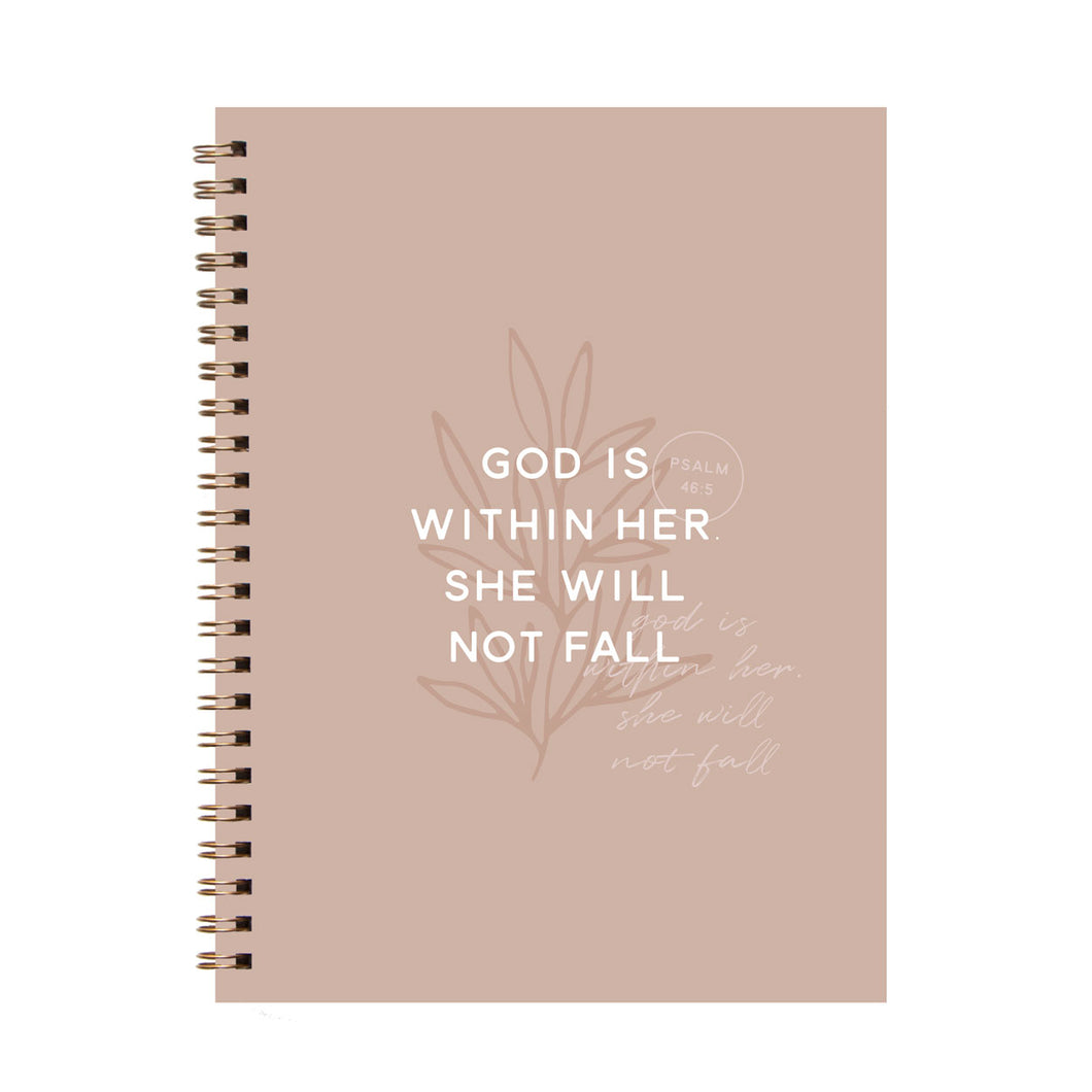 God is Within Her Journal